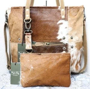 🆕Myra Bag BUNDLE COWHIDE Purse Shoulder Bag Tote